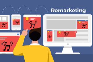 immagine che riassume il remarketing per la promozione musicale come azione di marketing musicale